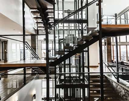 silver-mountain-glass-park-city-staircases