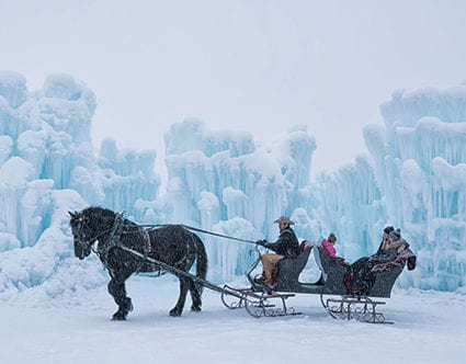 park-city-ice-castles-sleigh-rides-rocky-mountain-outfitters