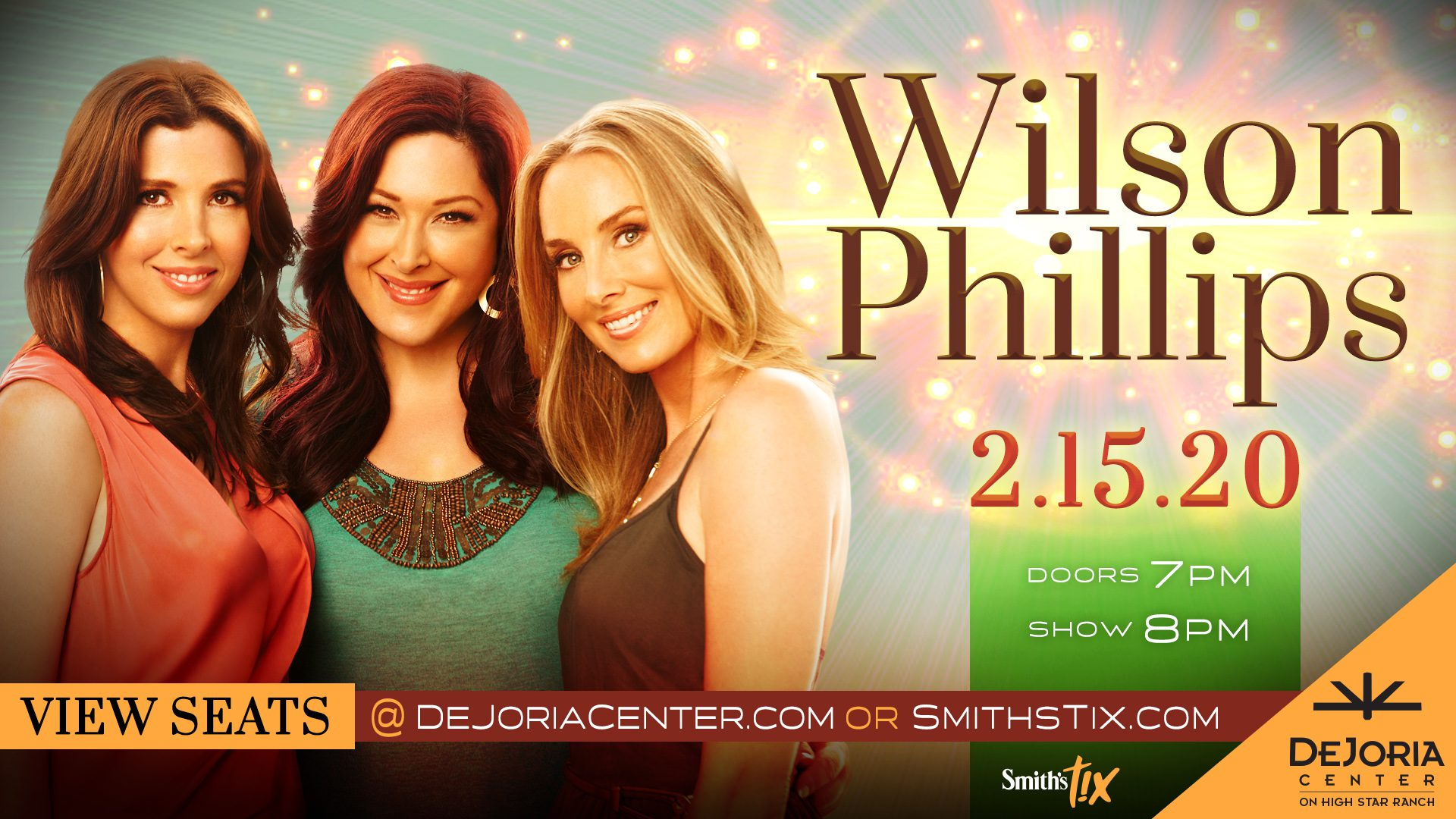 dejoria-center-Wilson-Phillips-concert