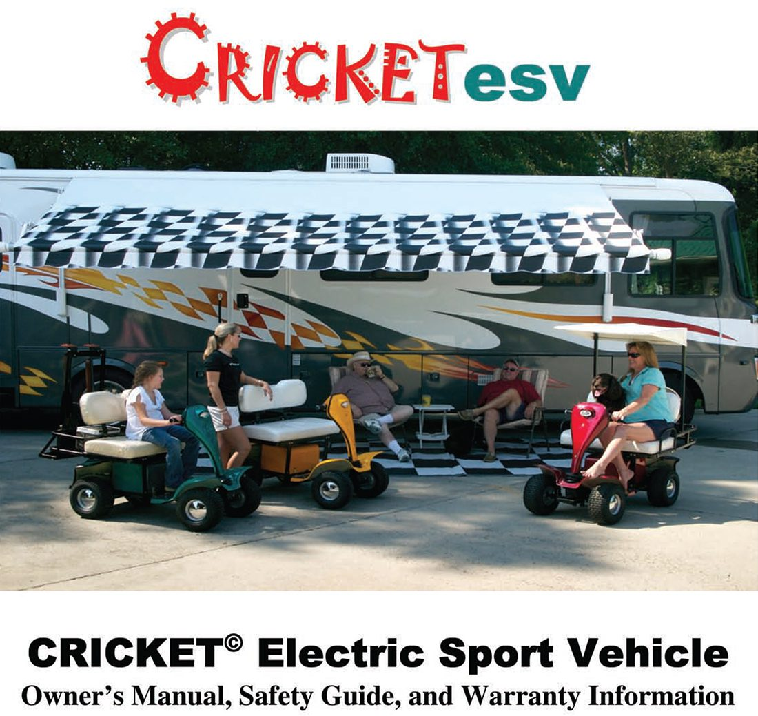 Cricket-ESV-Mini-Golf-Cart-Manual